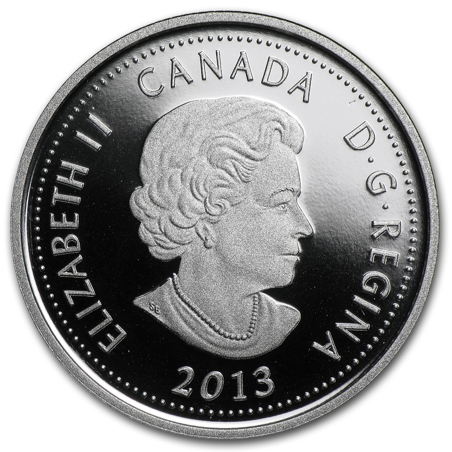 2013 1/4 oz Silver Canadian $4 Heroes of 1812 - Laura Secord