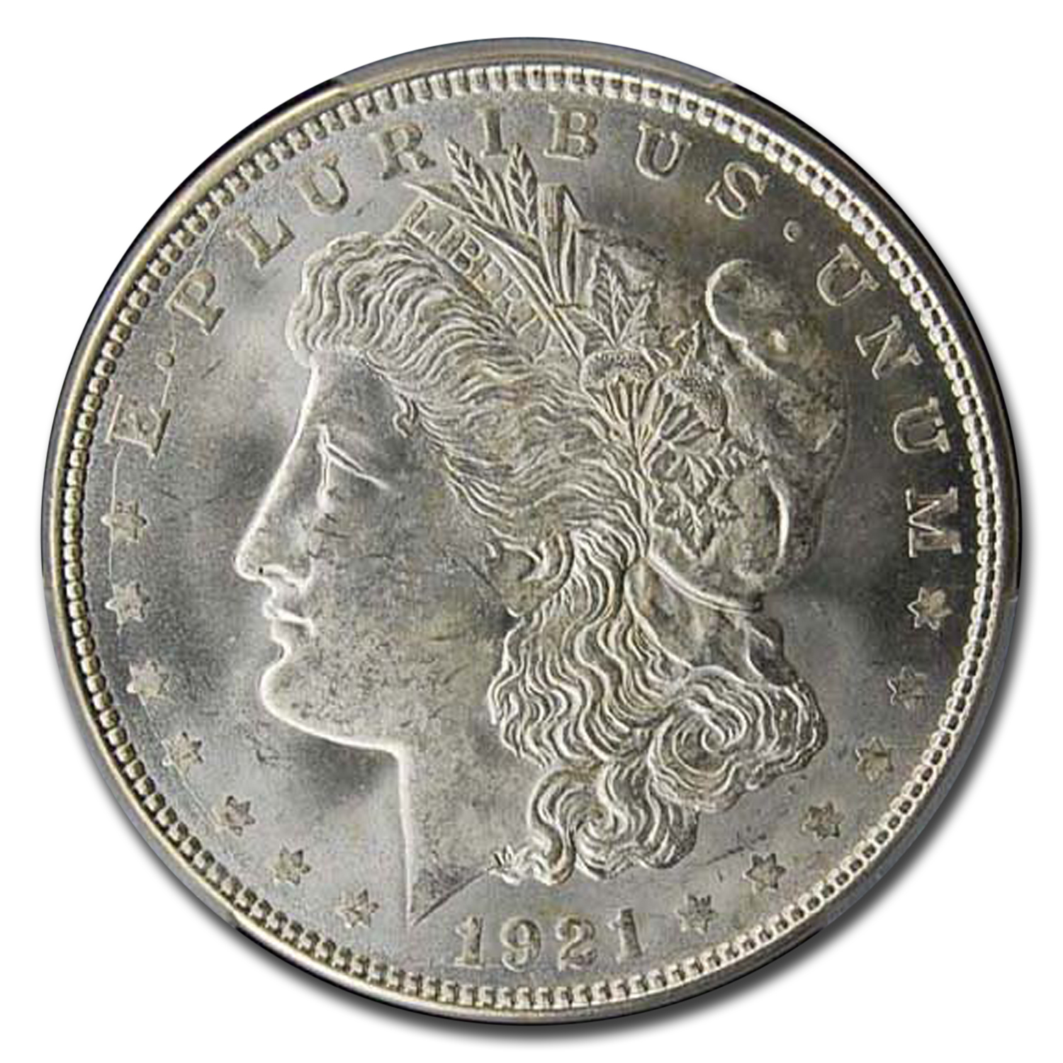 1921-D Morgan Dollar - MS-65+ Plus PCGS