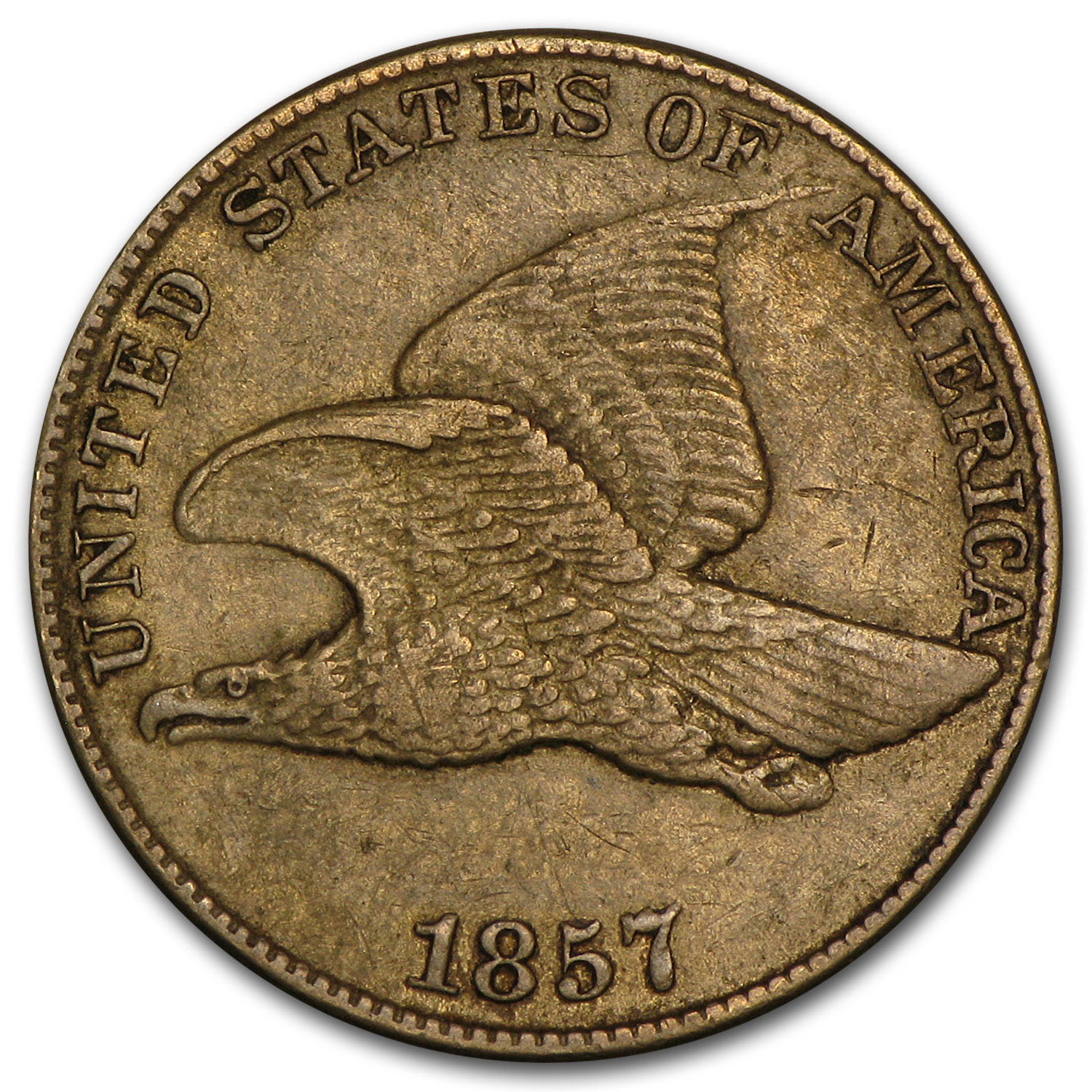 1857-1858 Flying Eagle Cents XF