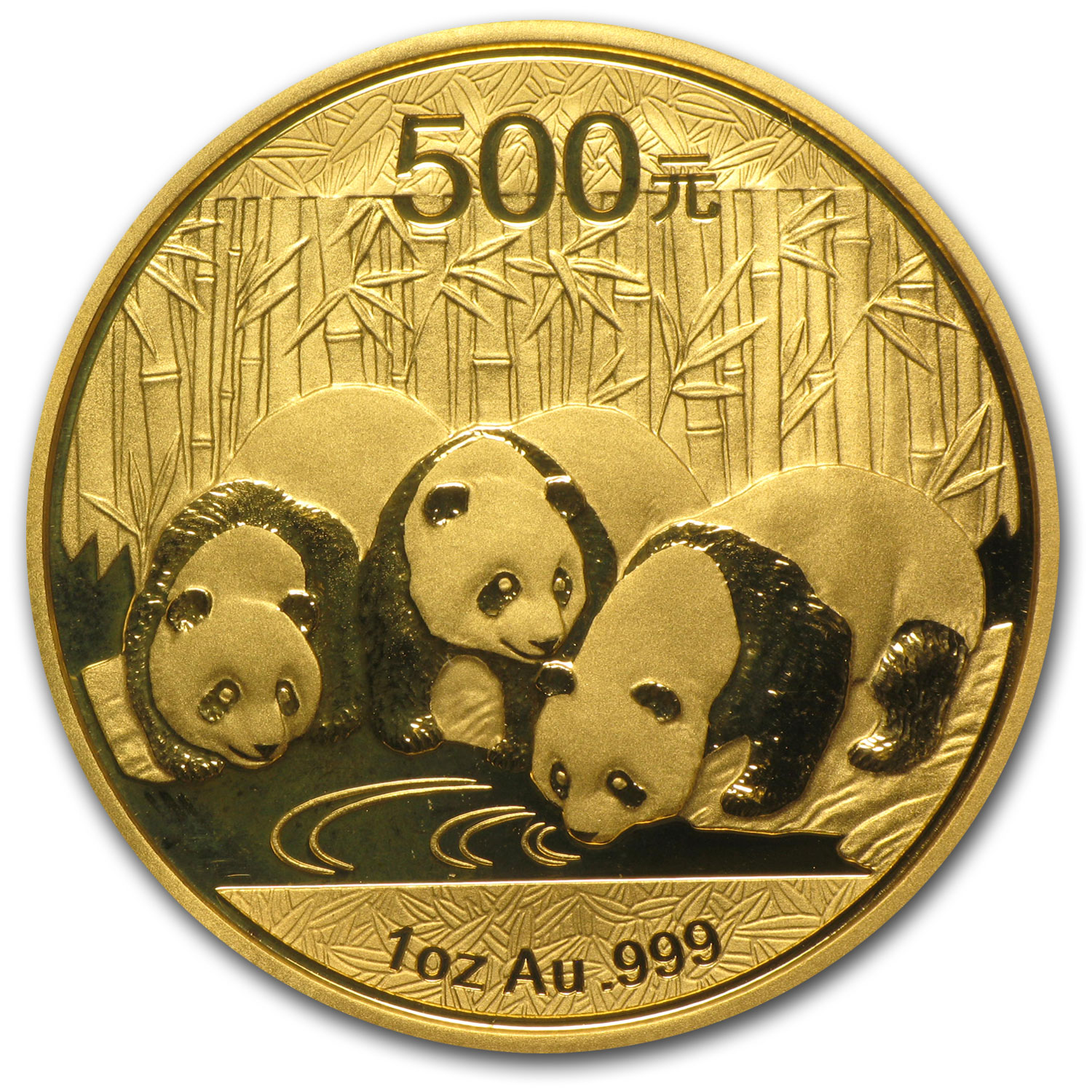 2013 1 oz Gold Chinese Panda MS-70 PCGS