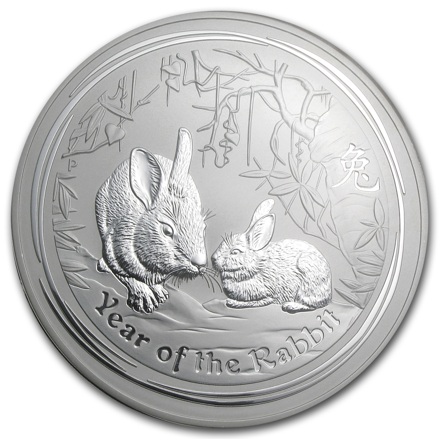 2011 Australia 1 kilo Silver Year of the Rabbit MS-70 NGC