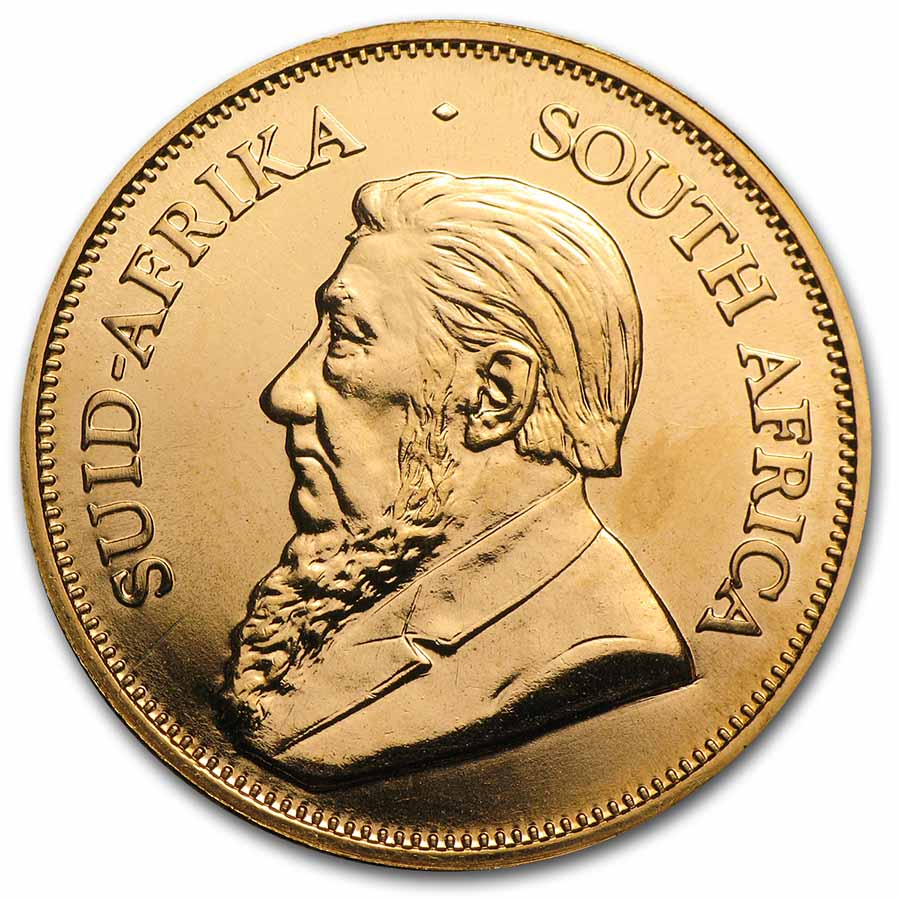2001 South Africa 1 oz Gold Krugerrand