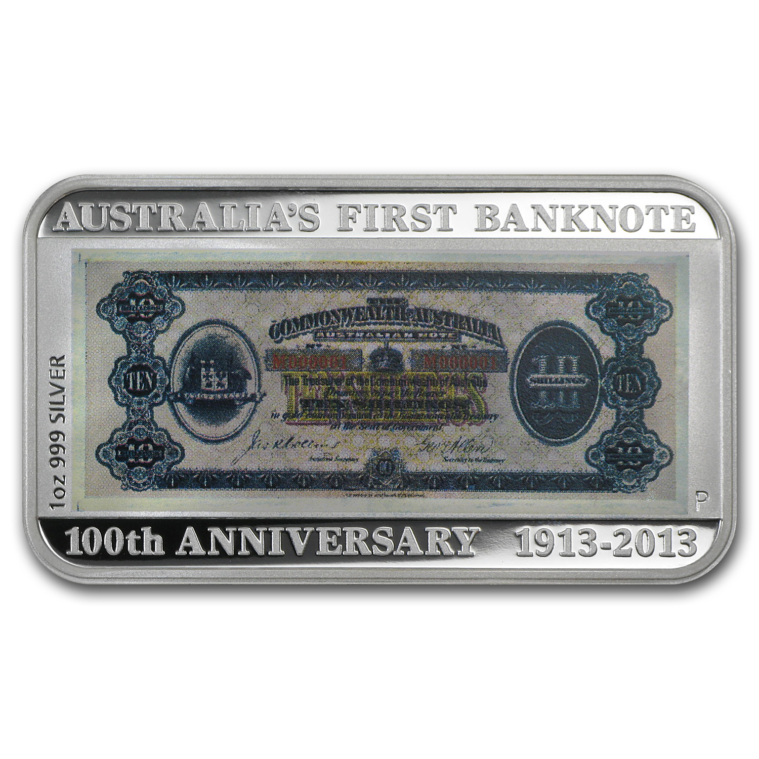 2013 Australia 3-Piece 1 oz Silver Banknote & Stamp Proof Set