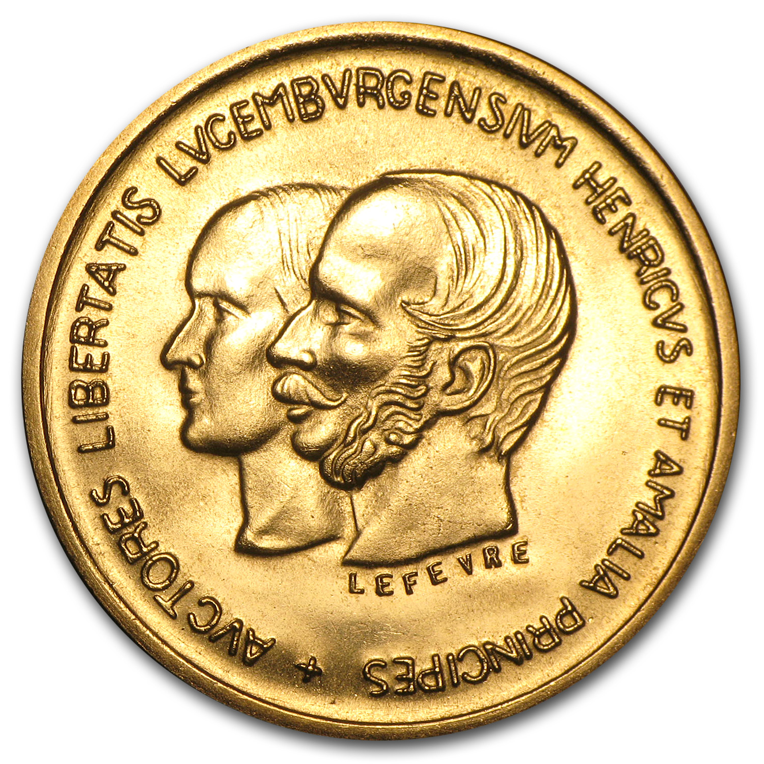 Luxembourg 1967 Gold Medal (Centennial--Treaty of London)