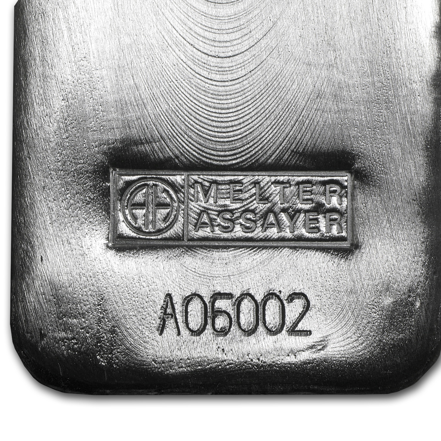 5000 gram Silver Bars - Argor/Heraeus (Poured)
