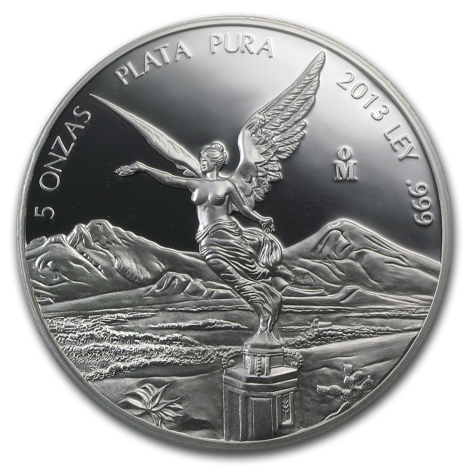 2013 Mexico 5 oz Proof Silver Libertad PR-70 PCGS