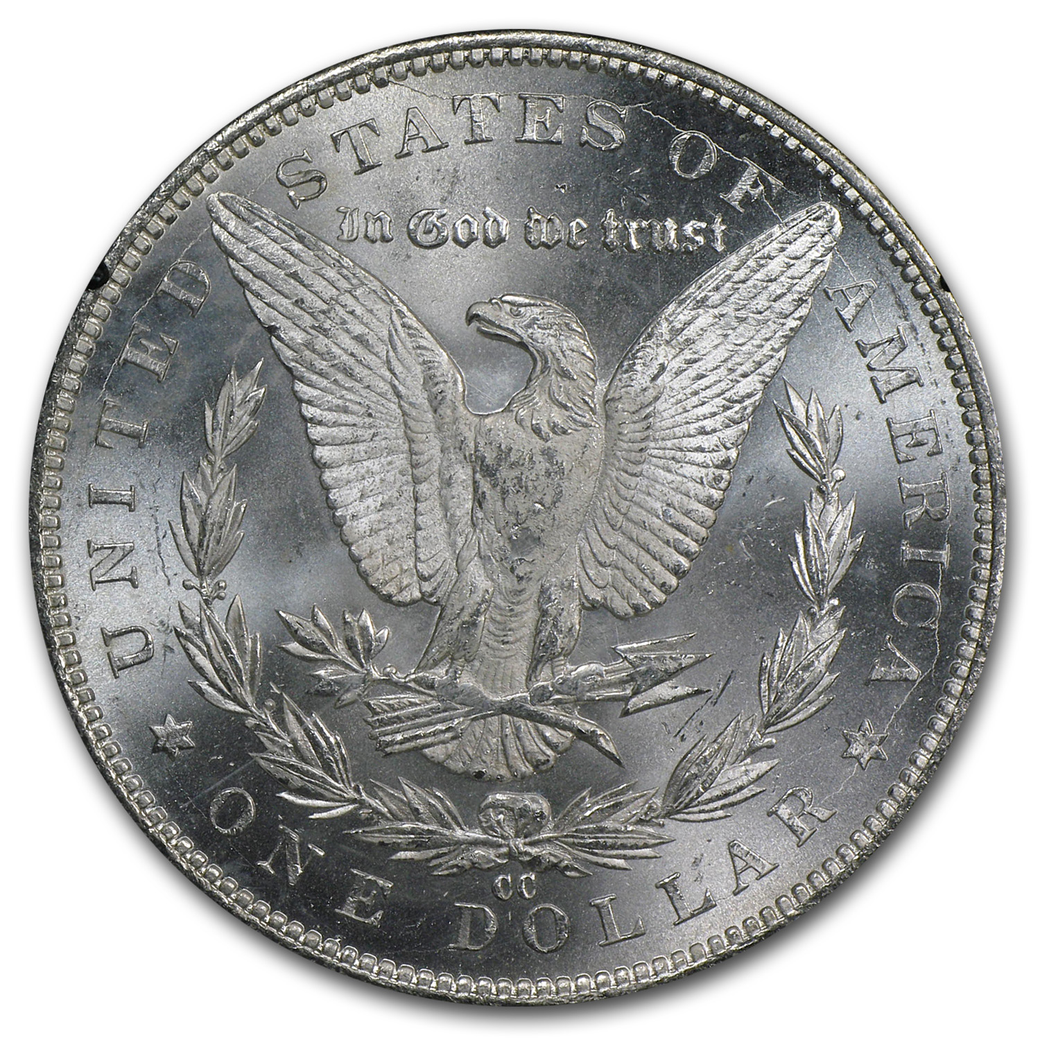 1884-CC Morgan Dollar MS-66 NGC VAM-7A - GSA Certified