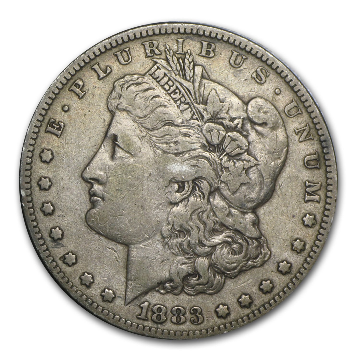 1883-S Morgan Dollar XF