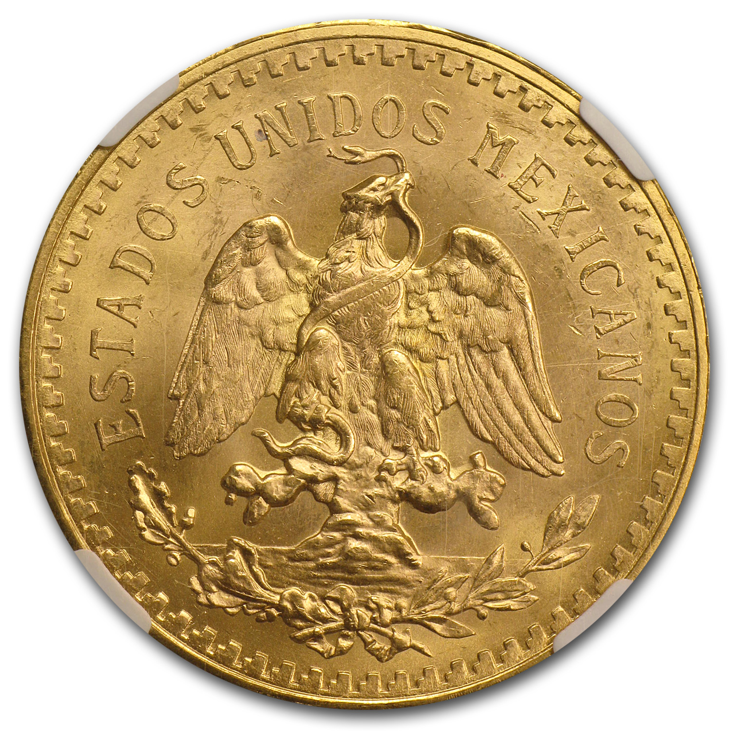 Mexico 1931 50 Pesos Gold Coin - MS-64 NGC