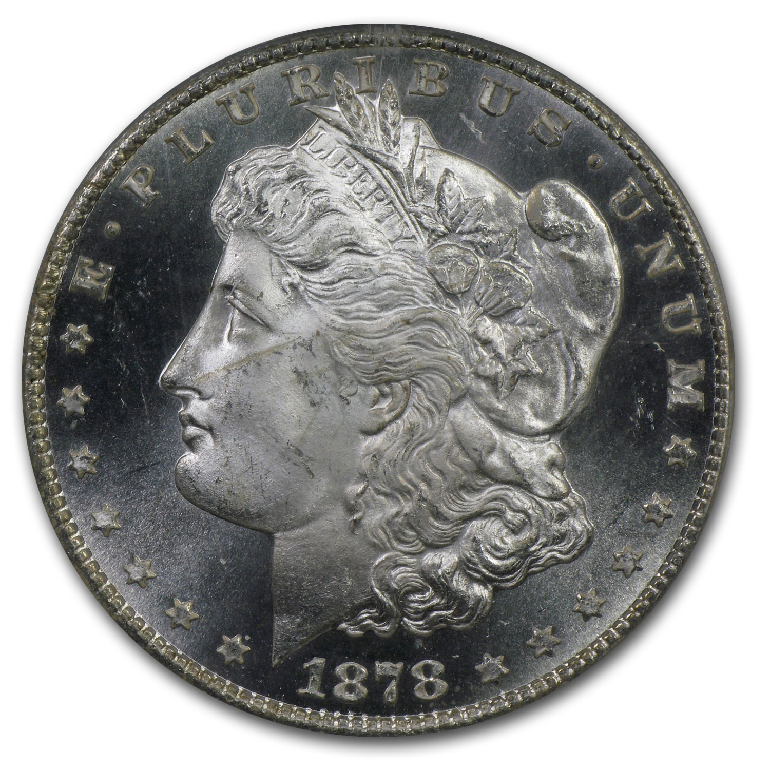 1878-CC Morgan Dollar MS-65 PL Proof Like PCGS