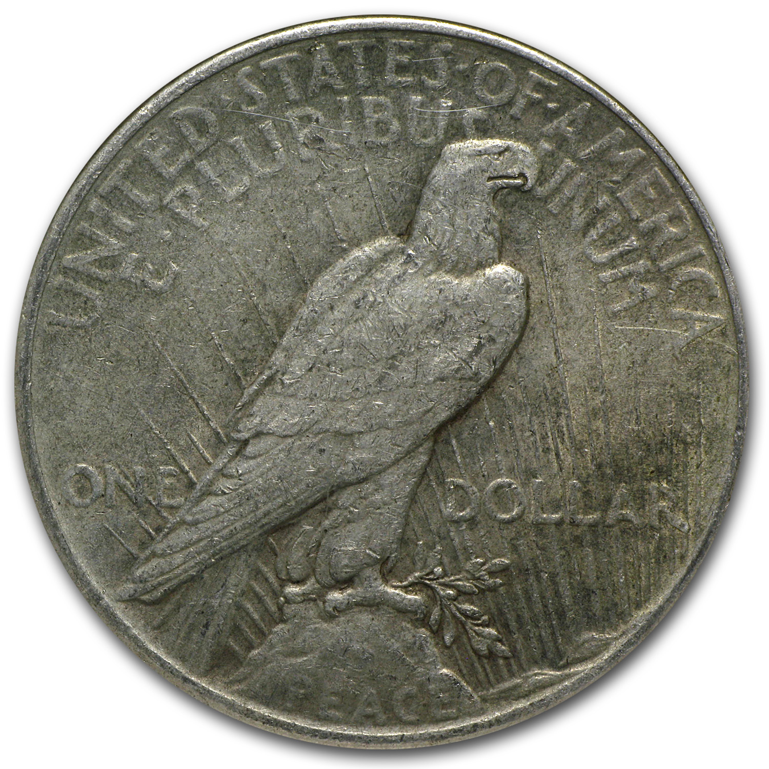 1925 Peace Dollar NGC (Binion Collection)