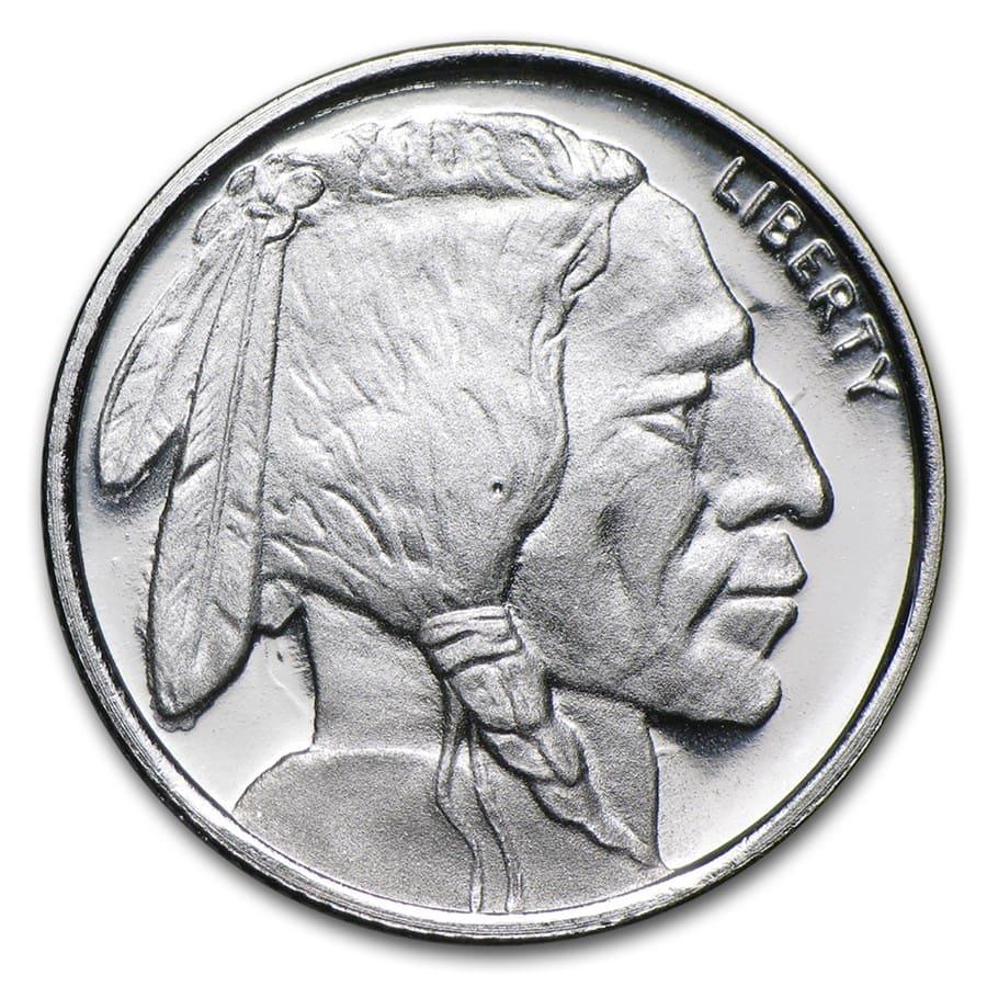 Buy 1 10 Oz Silver Buffalo Round Tenth Ounce Silver