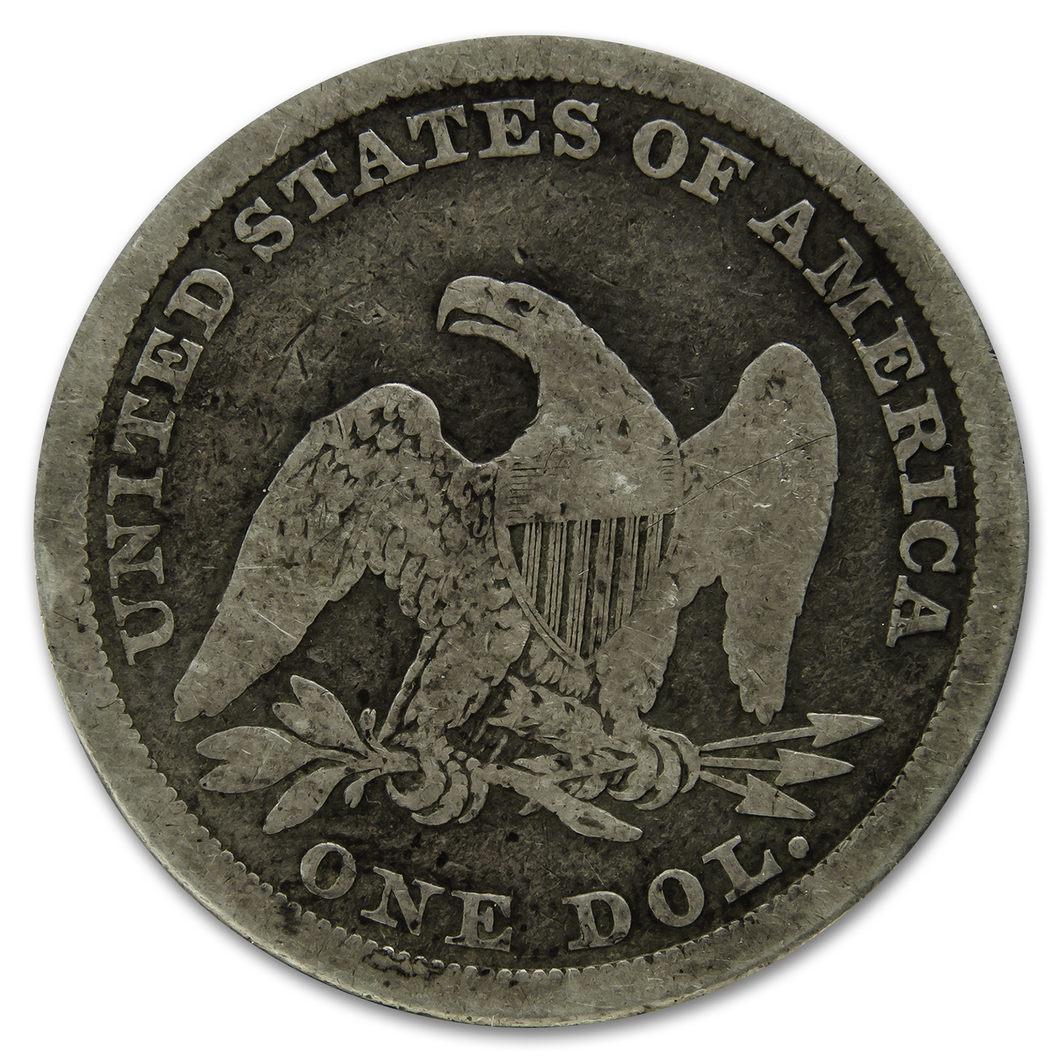 1840 Liberty Seated Dollar Good