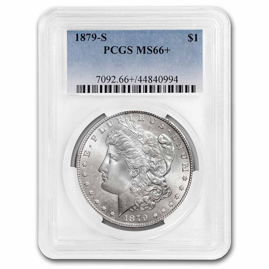 1879-S Morgan Dollar MS-66+ Plus PCGS