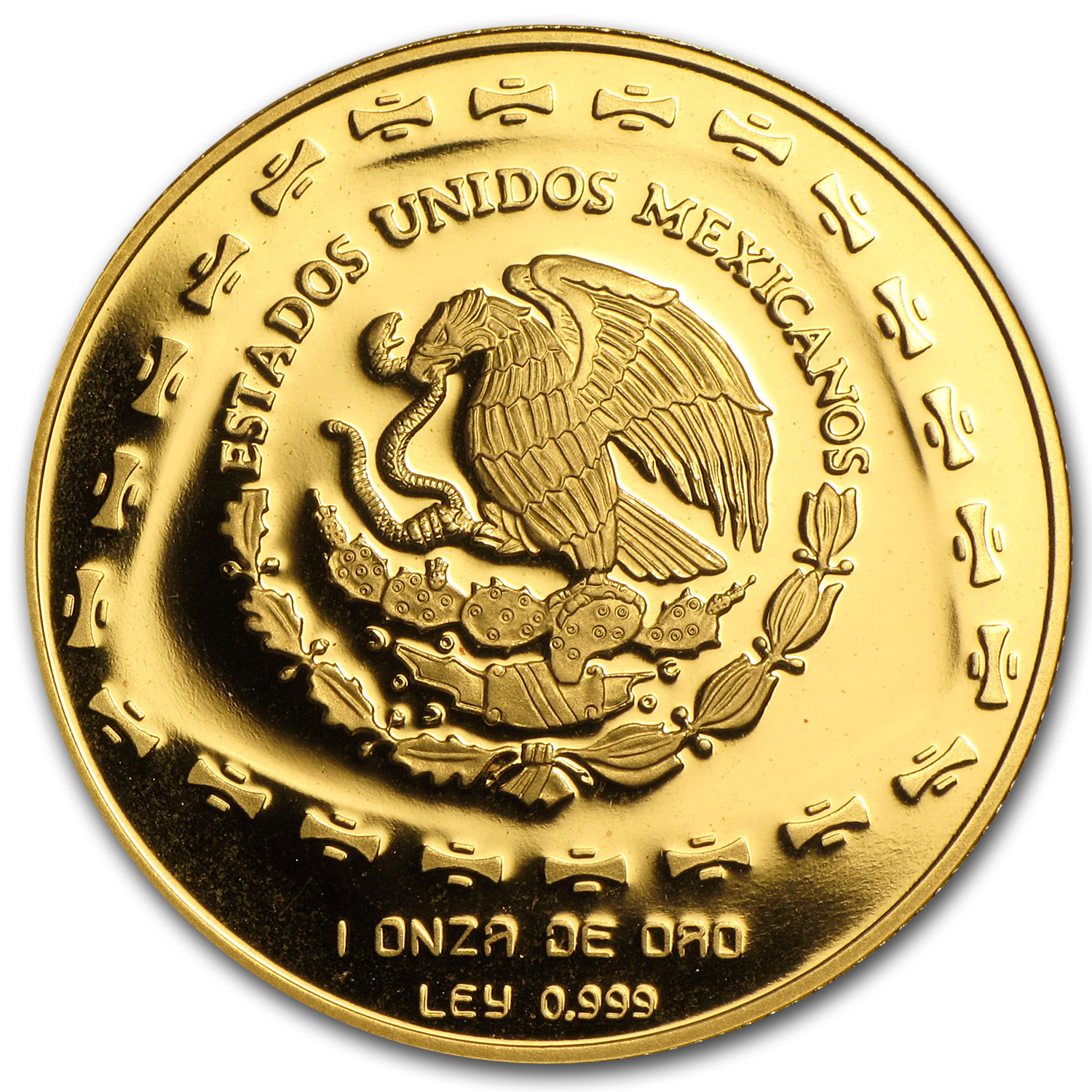 1998 Mexico 100 Pesos Gold Proof Aguila