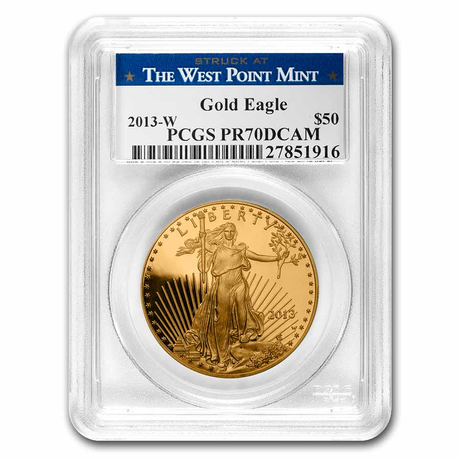 2013-W 1 oz Proof Gold American Eagle PR-70 DCAM PCGS