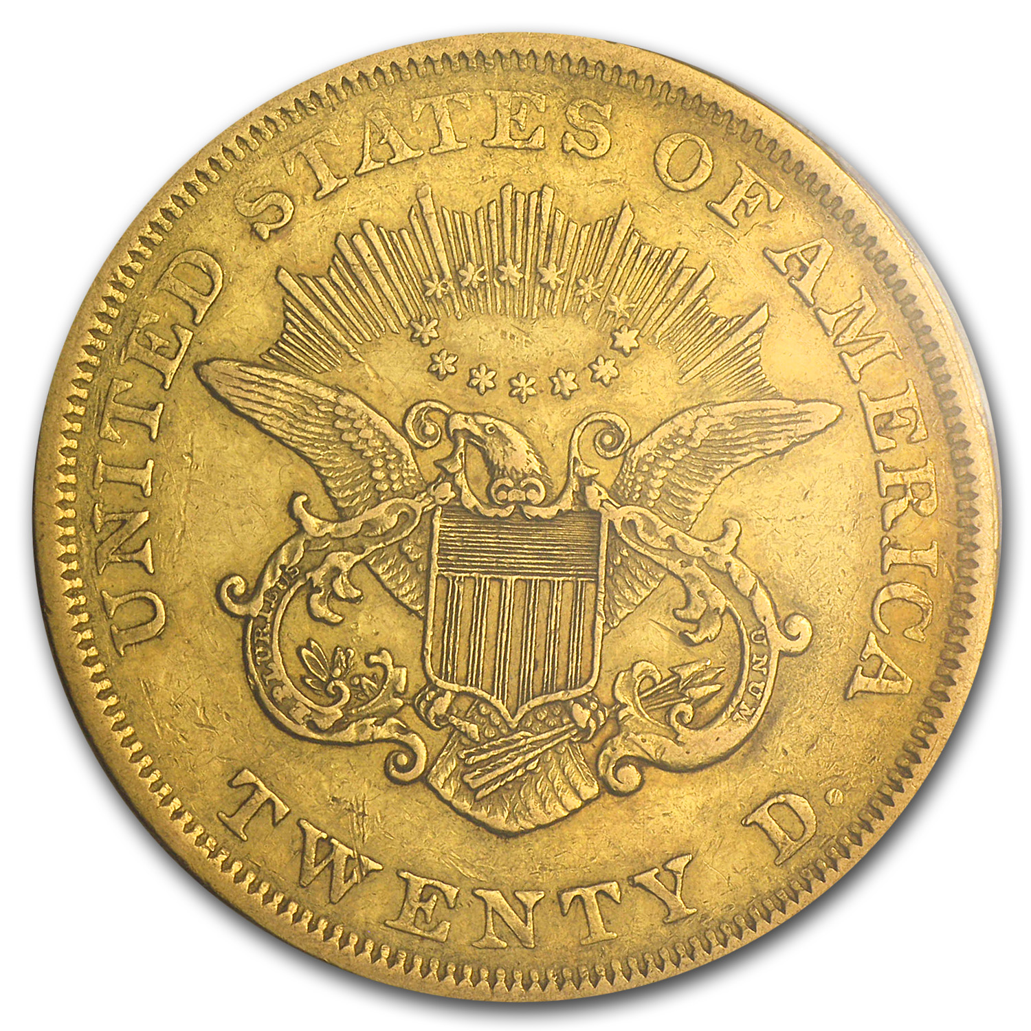 1851 $20 Gold Liberty Double Eagle - EF-45 PCGS