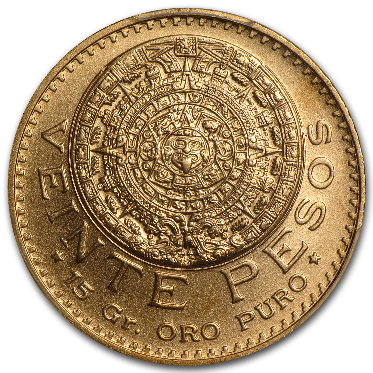 Mexico 1959 20 Pesos Gold Coin - MS-70 PCGS (Restrike)