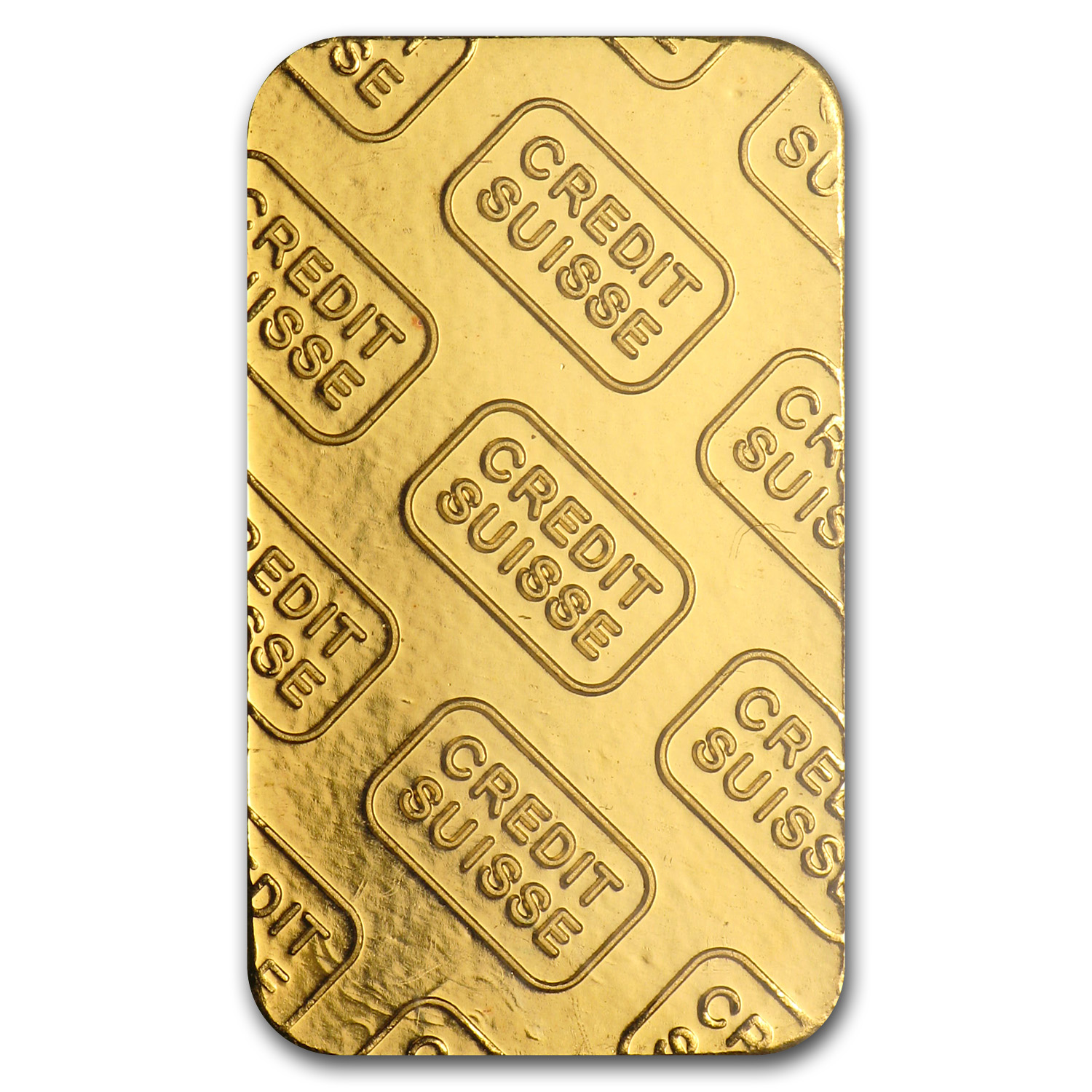 5 gram Gold Bar - Credit Suisse (Vintage Design)
