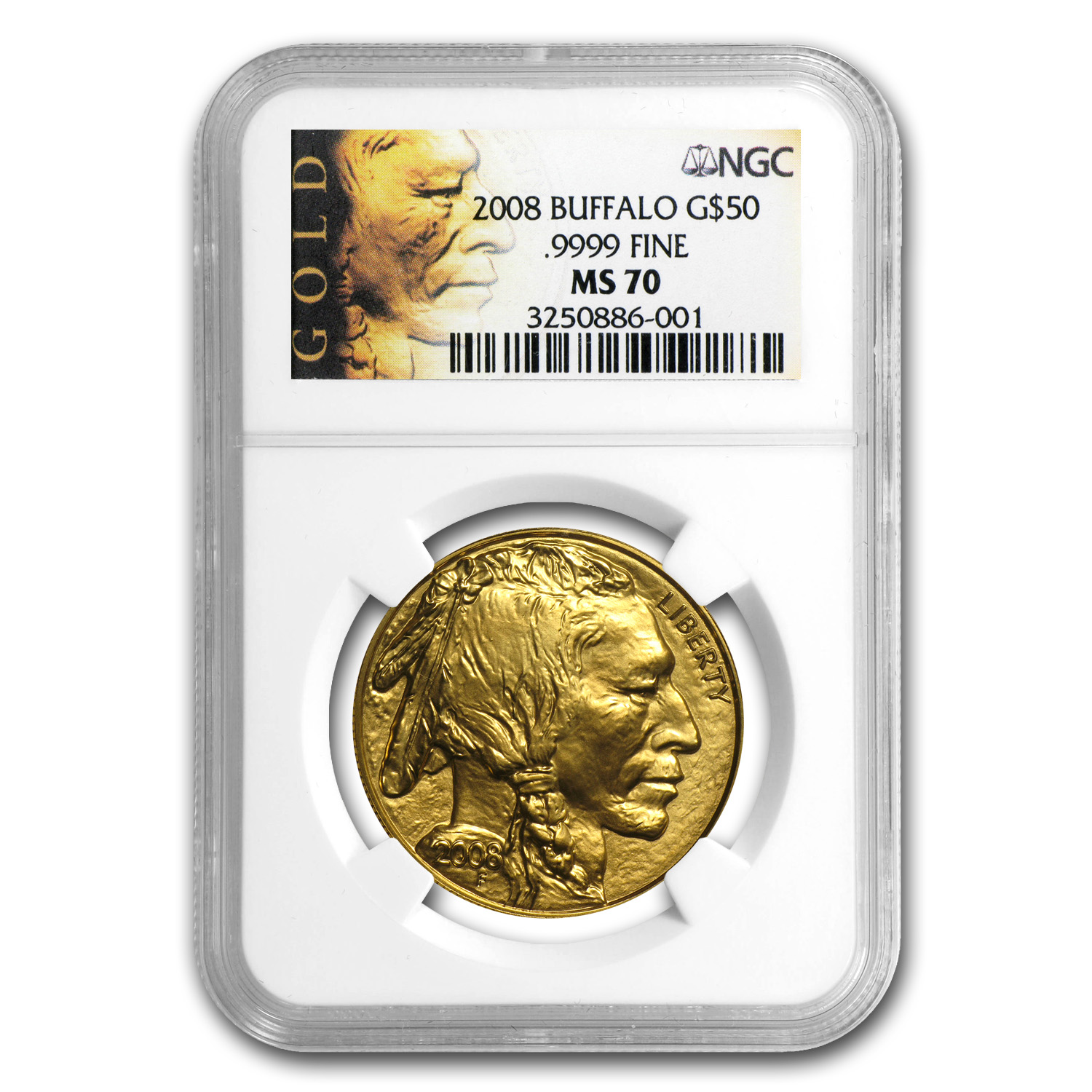 2006-2013 1 oz Gold Buffalo MS-70 NGC 8-Coin Set