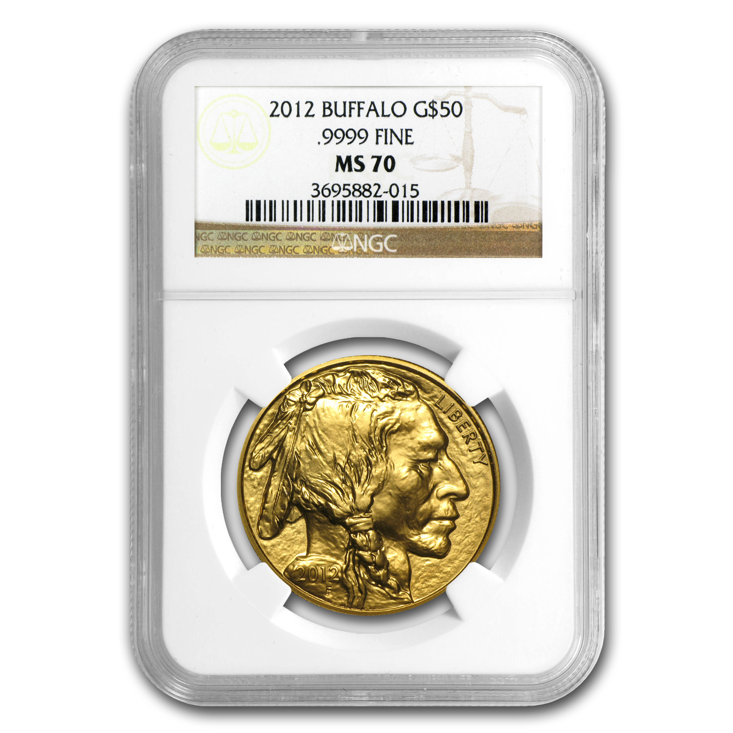2006-2013 8-Coin 1 oz Gold Buffalo Set MS-70 NGC