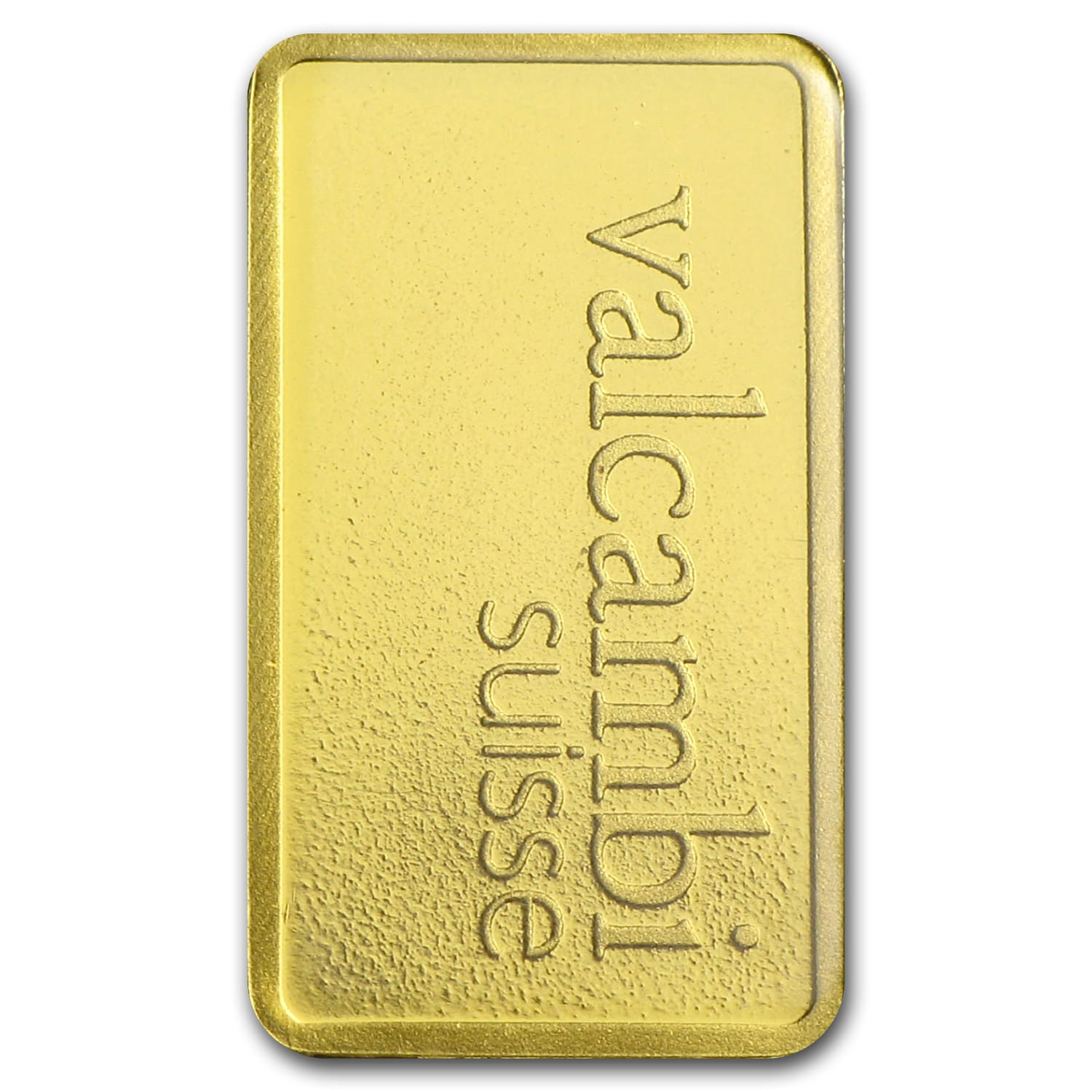1 gram Gold Bar - Valcambi (In Assay)