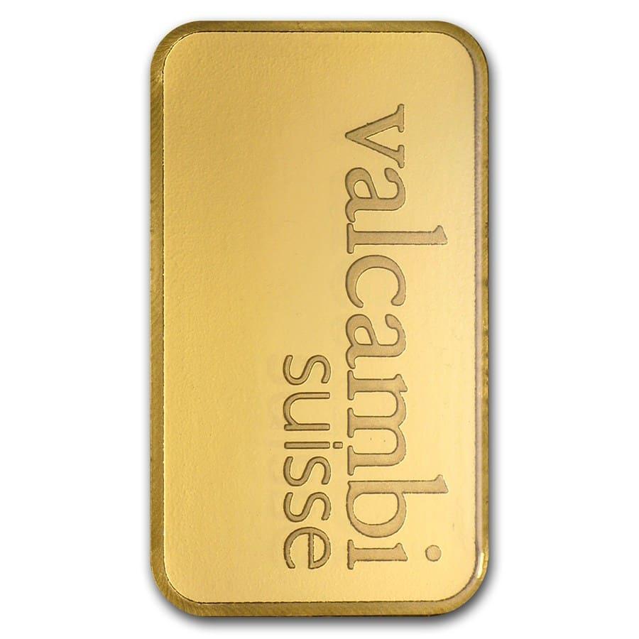 20 Gram Gold Bar Valcambi In Assay Valcambi Gold