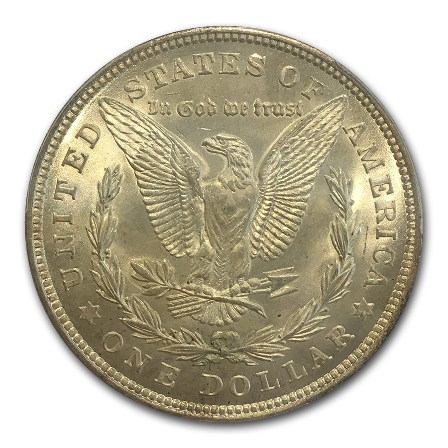 1921 Morgan Dollar - MS-66 PCGS - CAC