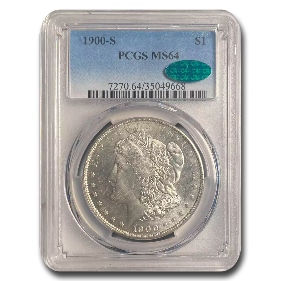 1900-S Morgan Dollar MS-64 PCGS (CAC)