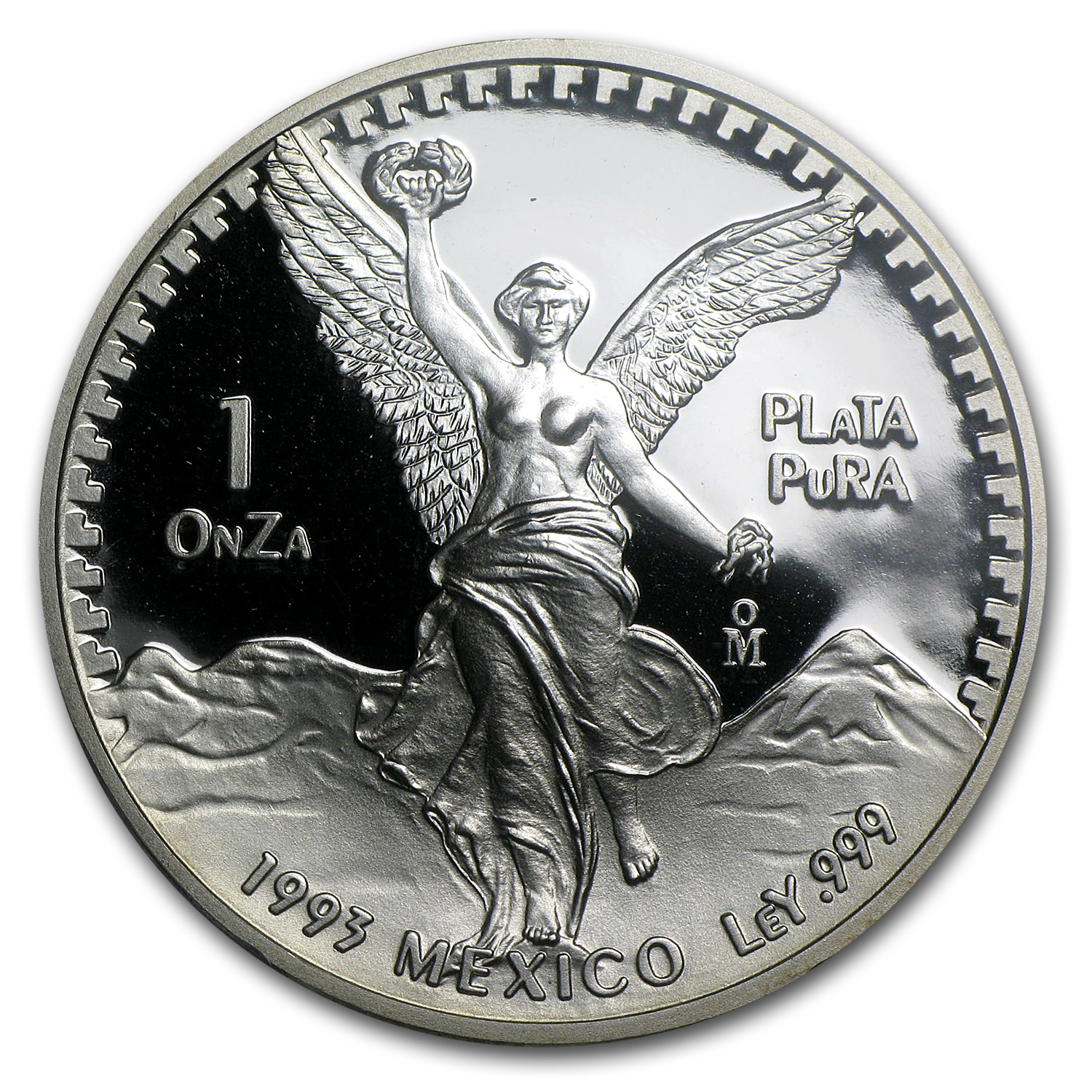 1993 Mexico 1 oz Proof Silver Libertad PR-69 PCGS