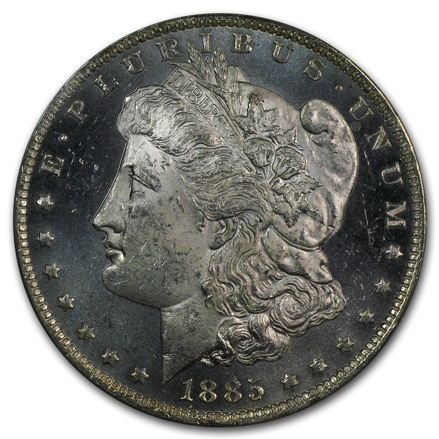 1878-1904 Morgan Dollars - MS-63 DMPL Deep Mirror Proof Like PCGS