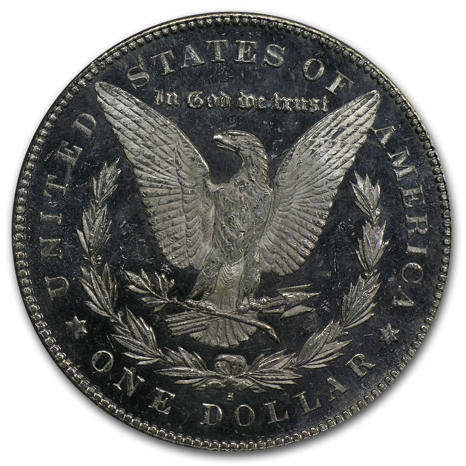 1878-S Morgan Dollar - MS-64 DMPL Deep Mirror Proof Like PCGS CAC