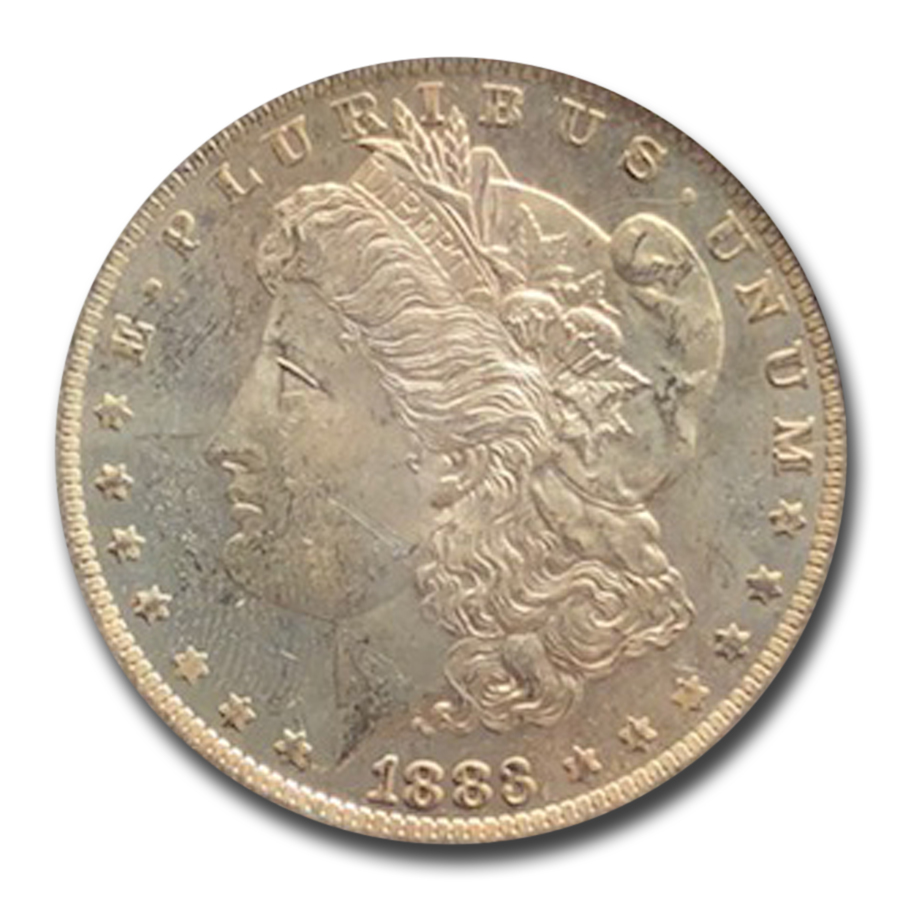 1883-O Morgan Dollar MS-64 DMPL PCGS (CAC)