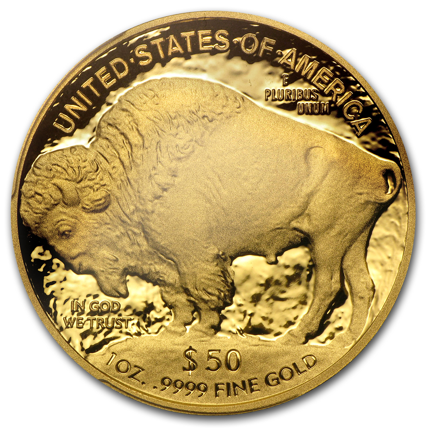 2013-W 1 oz Proof Gold Buffalo PR-70 PCGS (First Strike)