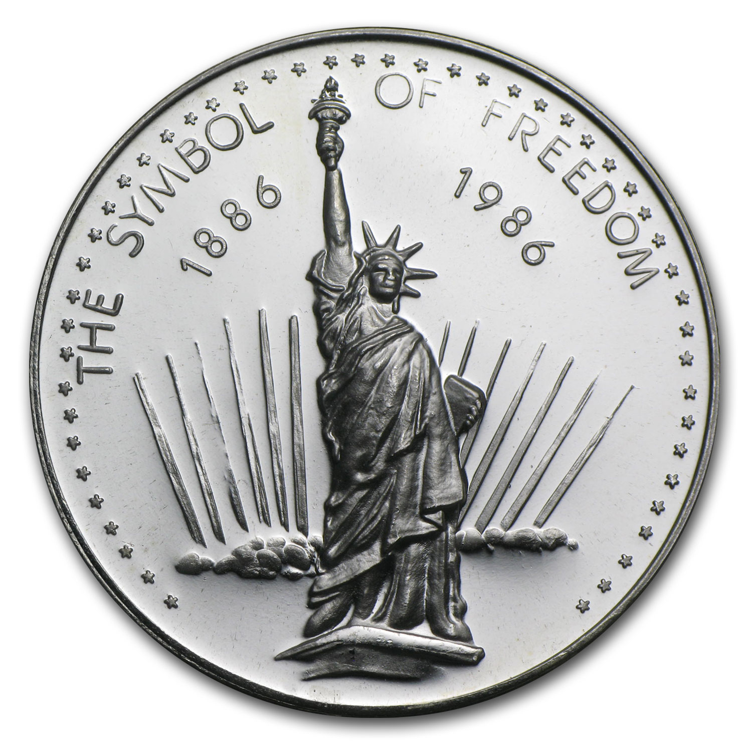 1 oz Silver Rounds - Statue of Liberty (Symbol of Freedom)