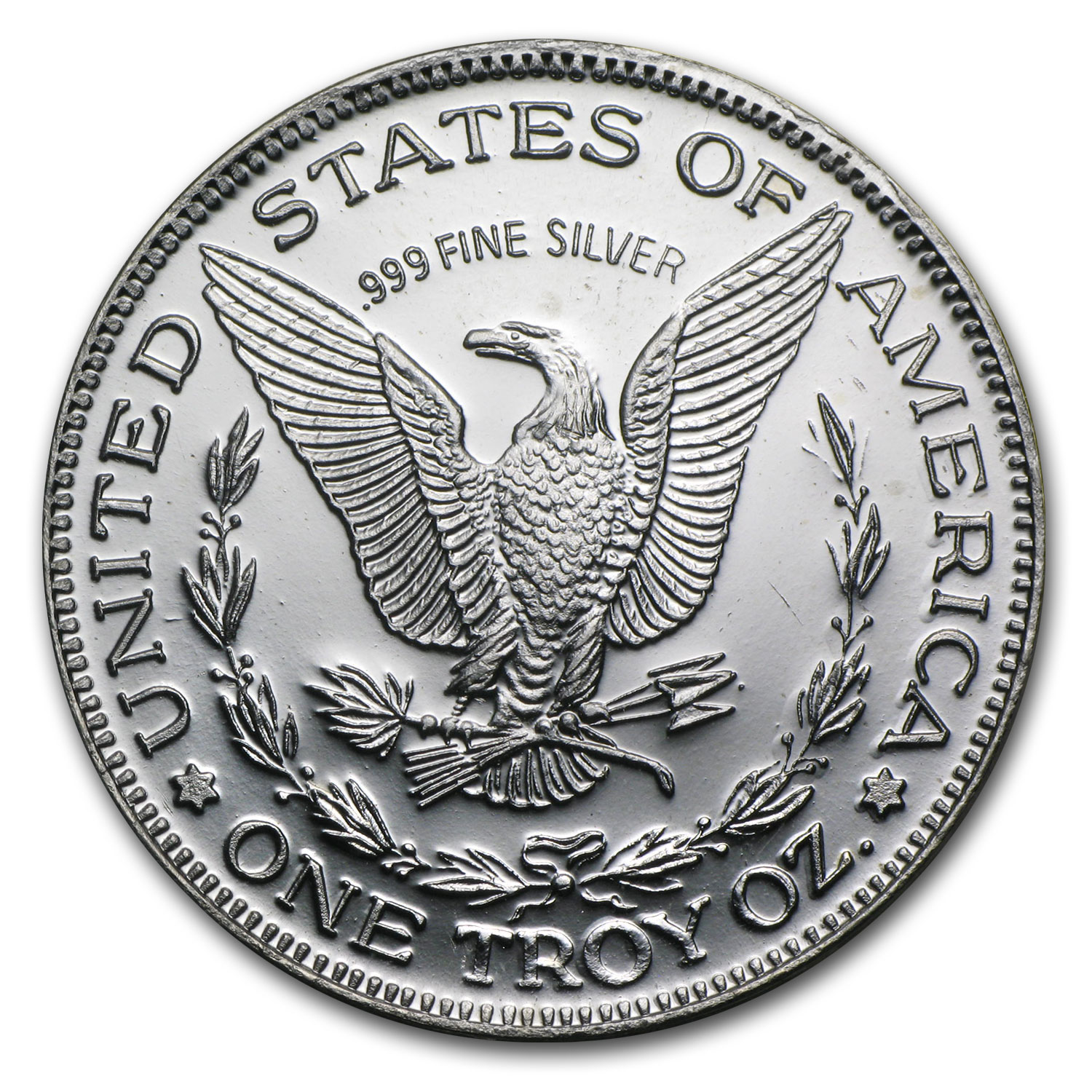 1 oz Silver Rounds - Statue of Liberty (Eternal Vigilance)