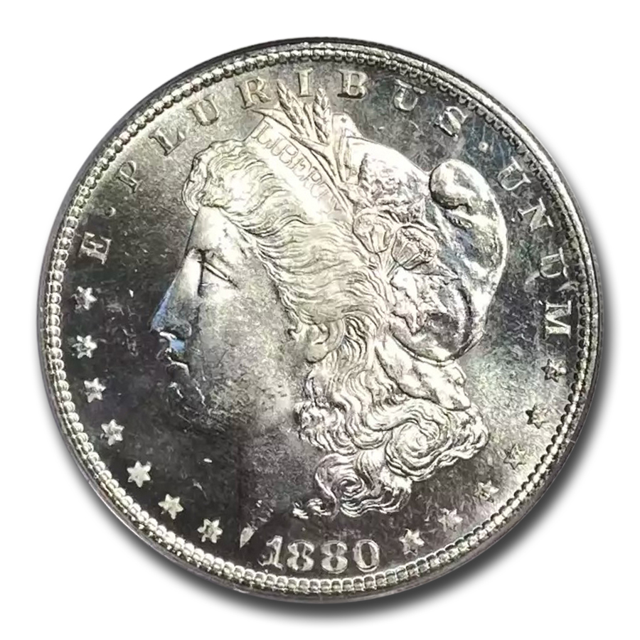 1880-S Morgan Dollar MS-65 PL Proof Like PCGS