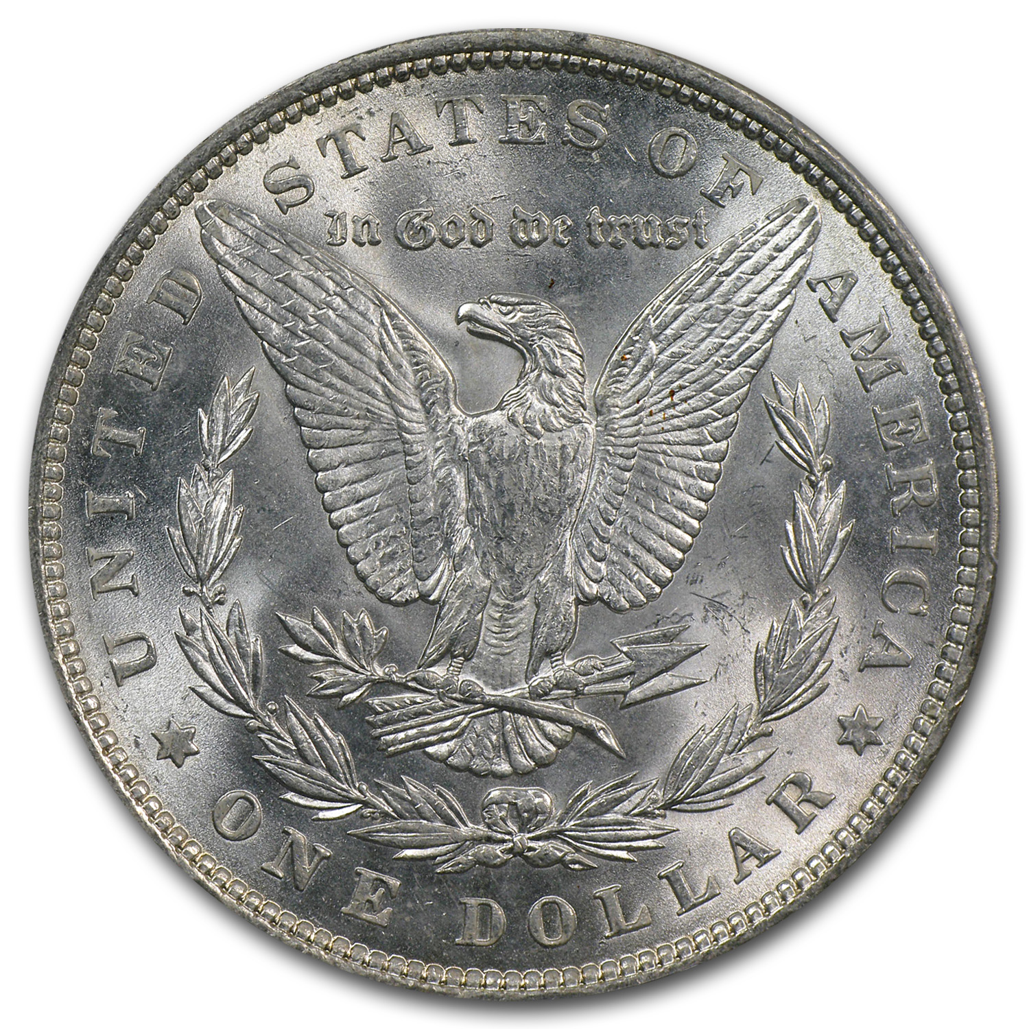 1878-1904 Morgan Dollars - MS-63 PCGS (Philadelphia Mint)