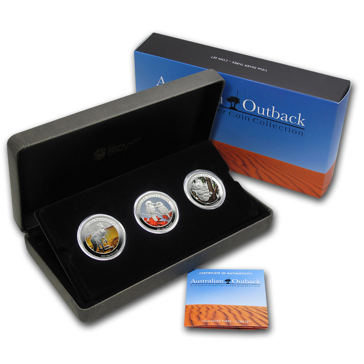 2013 1/2 oz Silver Australian Outback Collection - 3 Coin Set