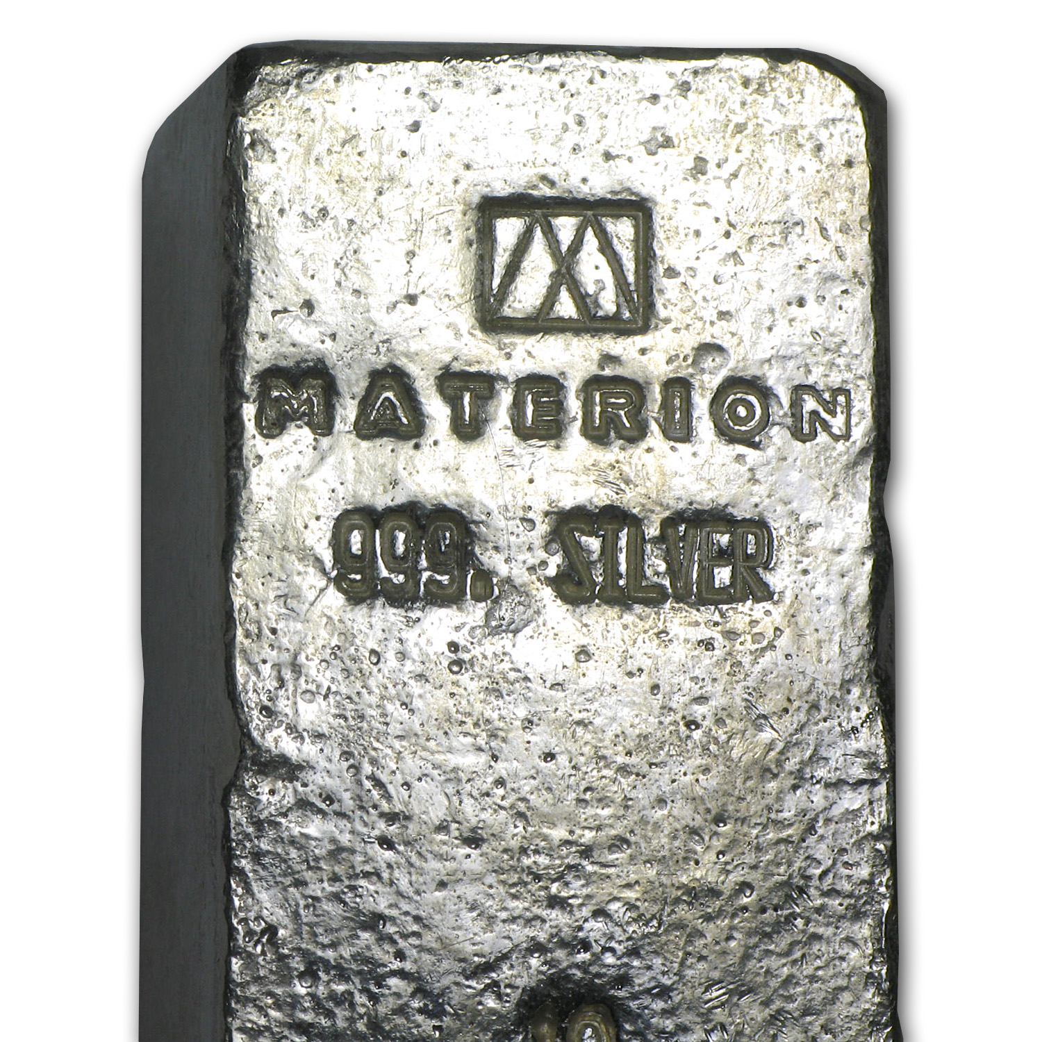 10 oz Silver Bar - Materion (Loaf Style)