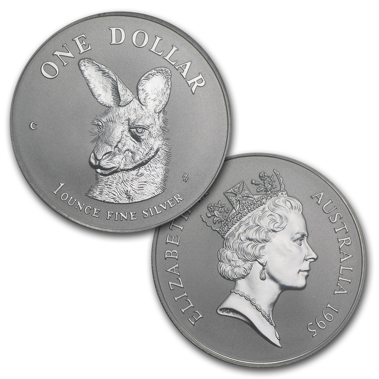 1993 - 2013 1 oz Silver Kangaroo Set