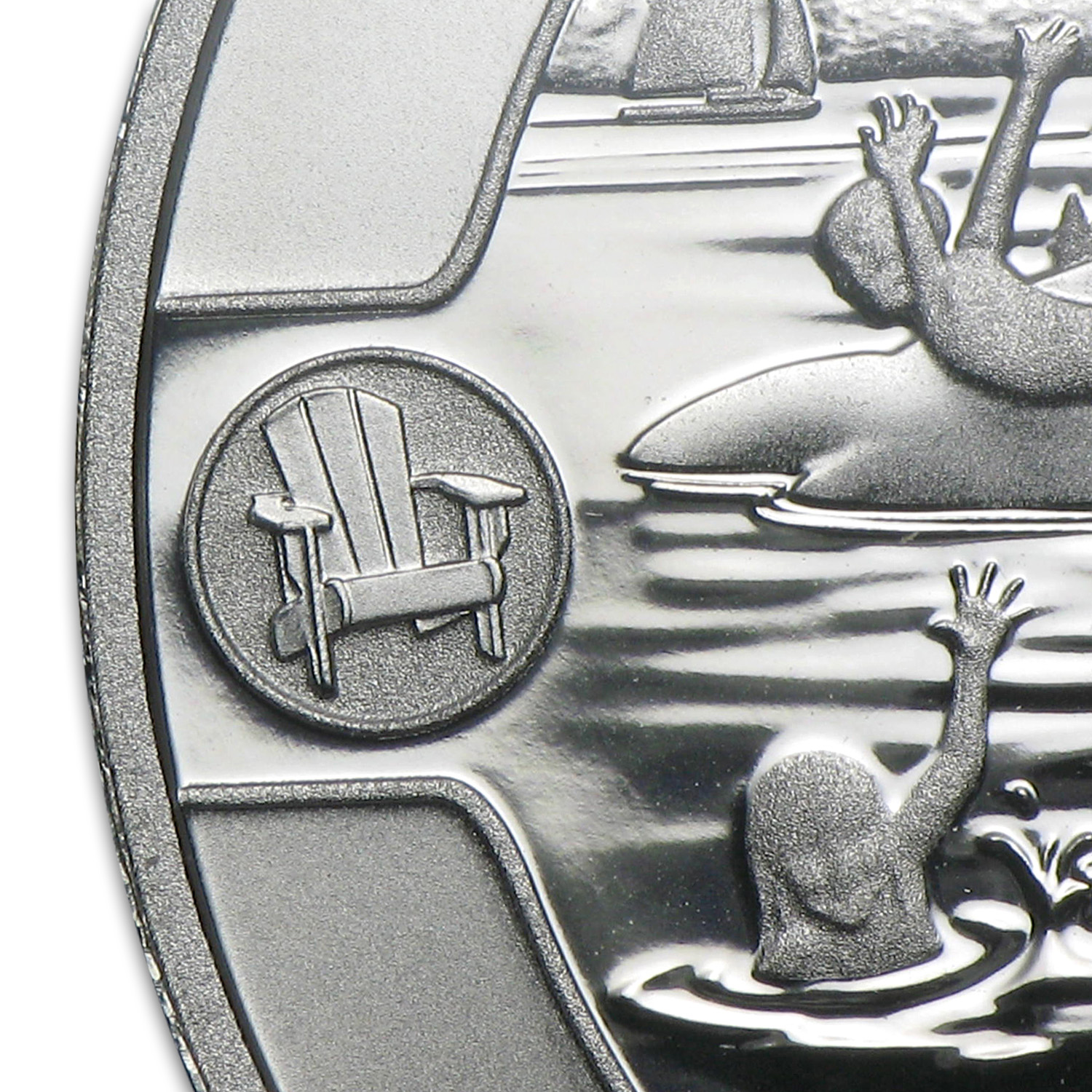 2013 1/2 oz Silver Canadian $10 Summer Fun - PF-69 Matte NGC (ER)