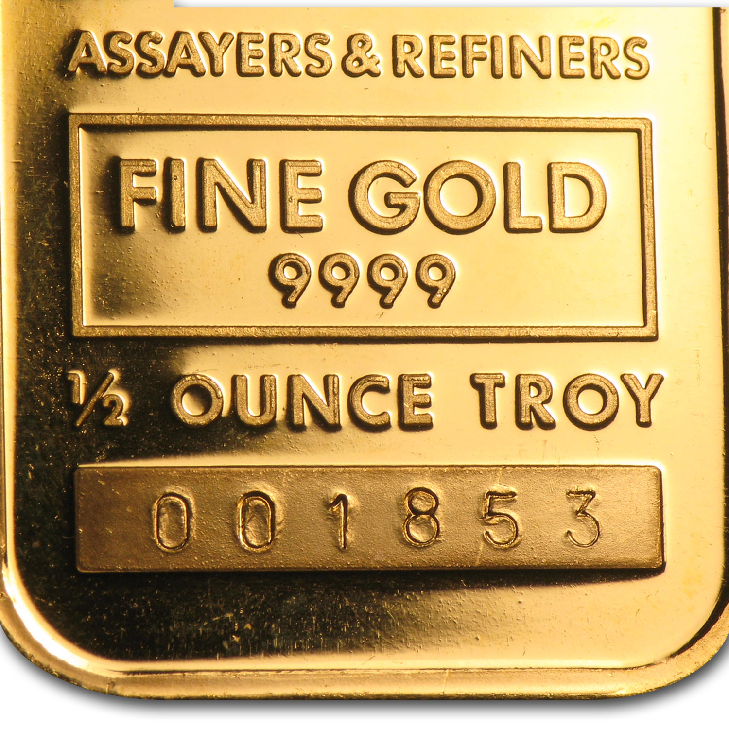 1/2 oz Gold Bars - Johnson Matthey (Cortez Gold Mines)