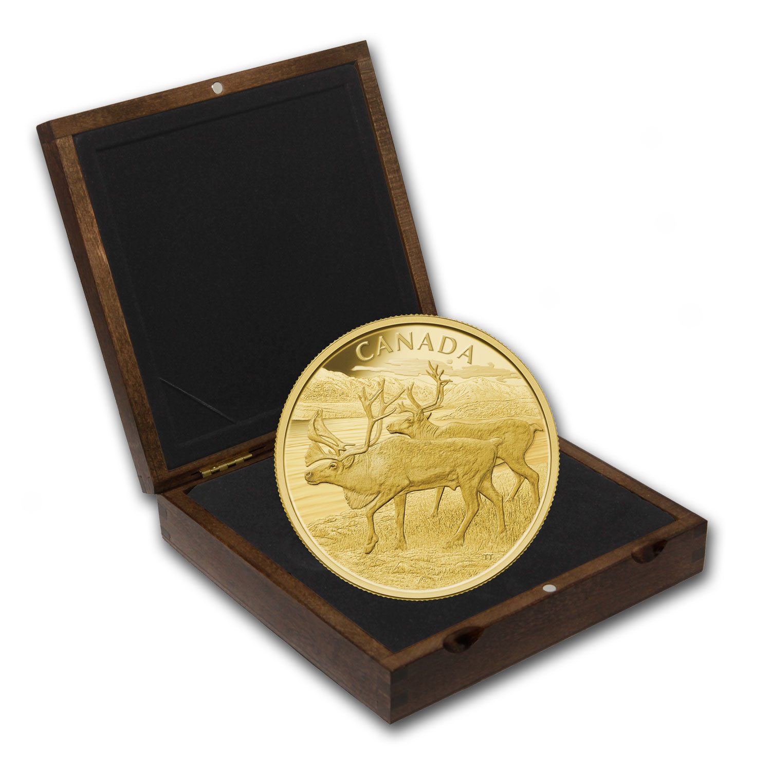 2013 Canada 1 kilo Proof Gold $2,500 The Caribou