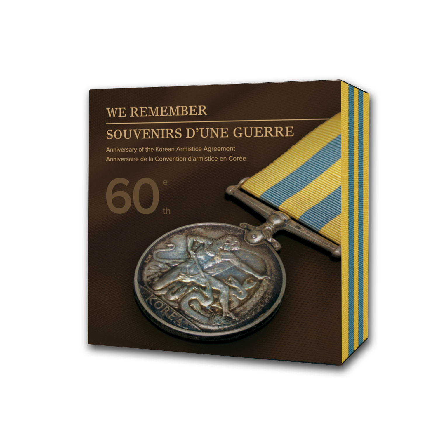 2013 Canada Silver The 60th Anniv. Korean Armistice Agreement