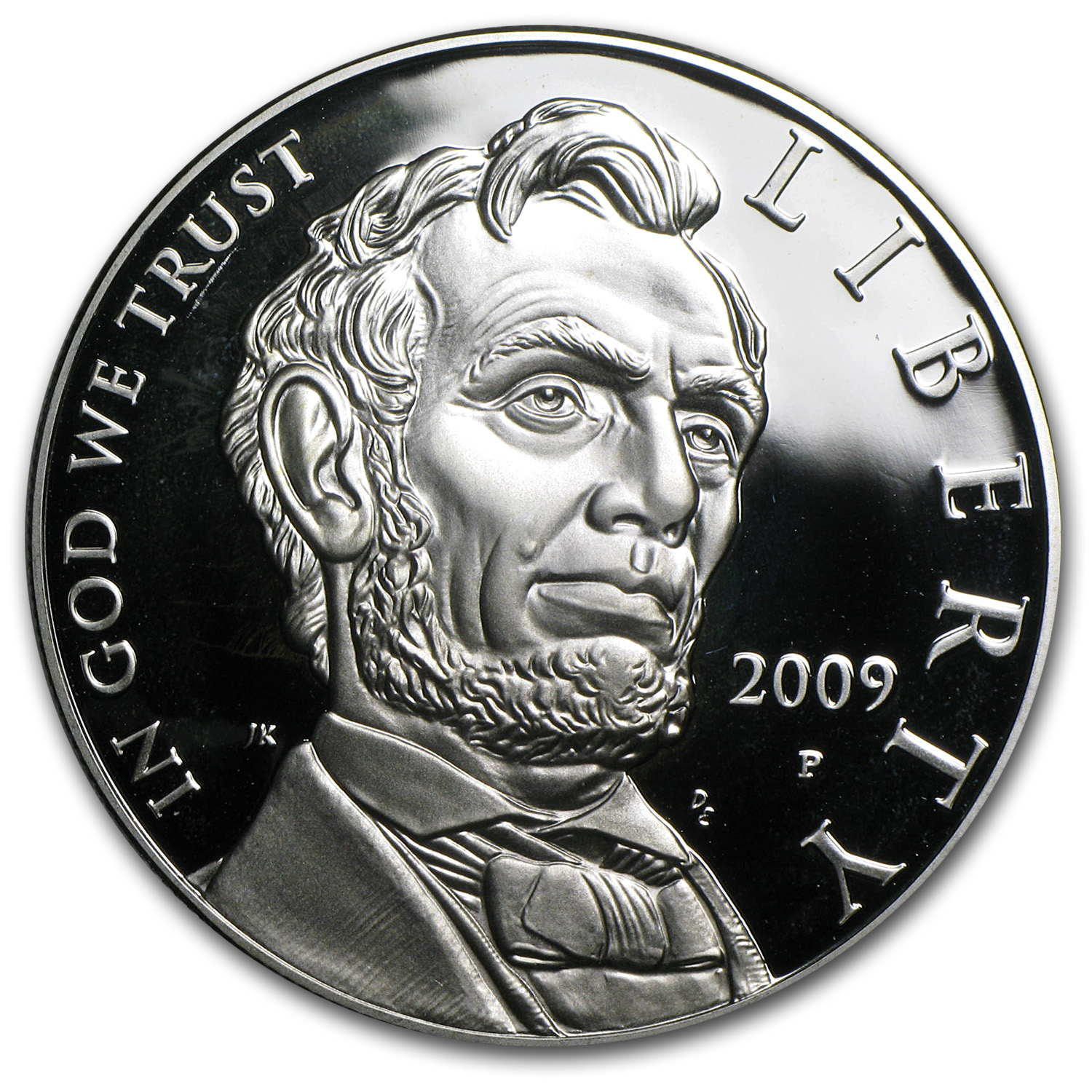 2009-P Abraham Lincoln $1 Silver Commem Proof (Capsule only)