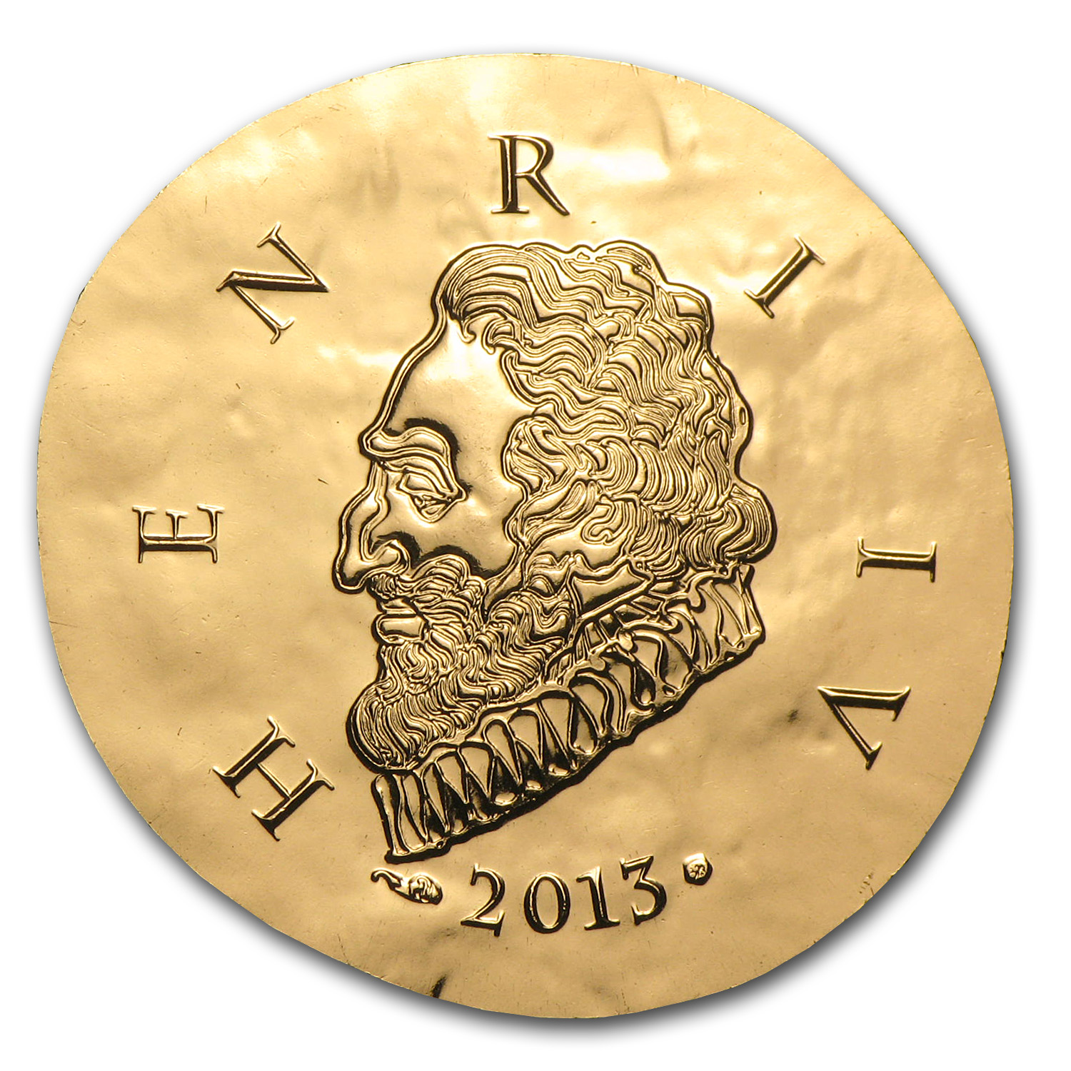 2013 1/4 oz Proof Gold Legendary Collection Henri IV