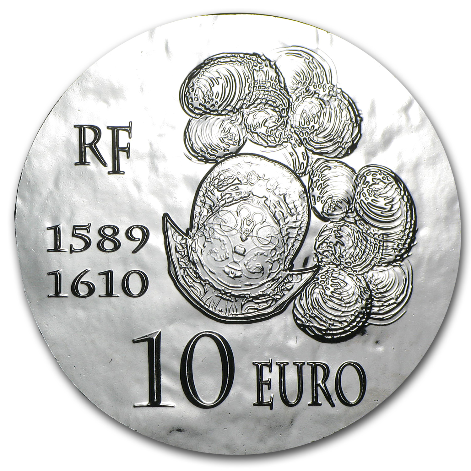 2013 €10 Silver Proof Legendary Collection - Henri IV