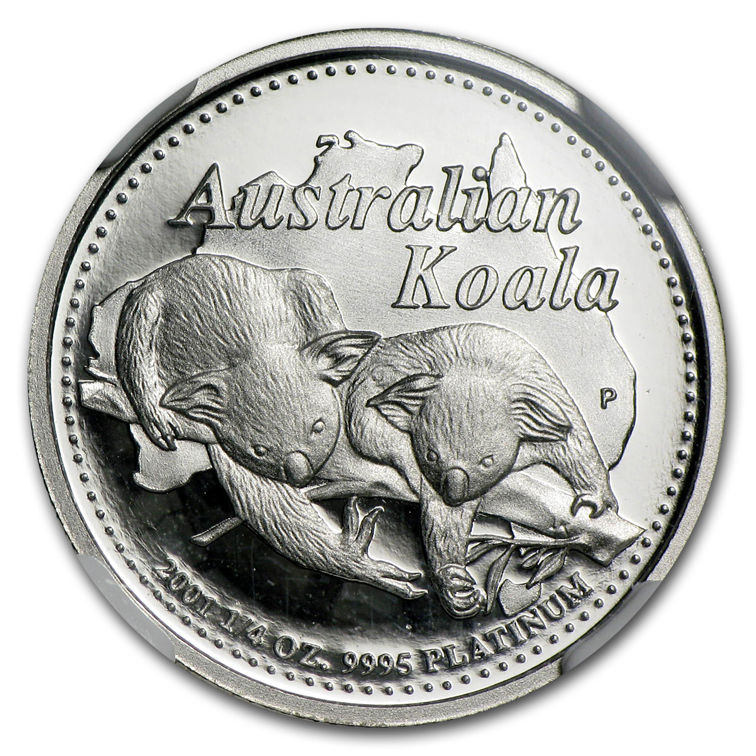 2001 Australia 1/4 oz Proof Platinum Koala PF-70 NGC