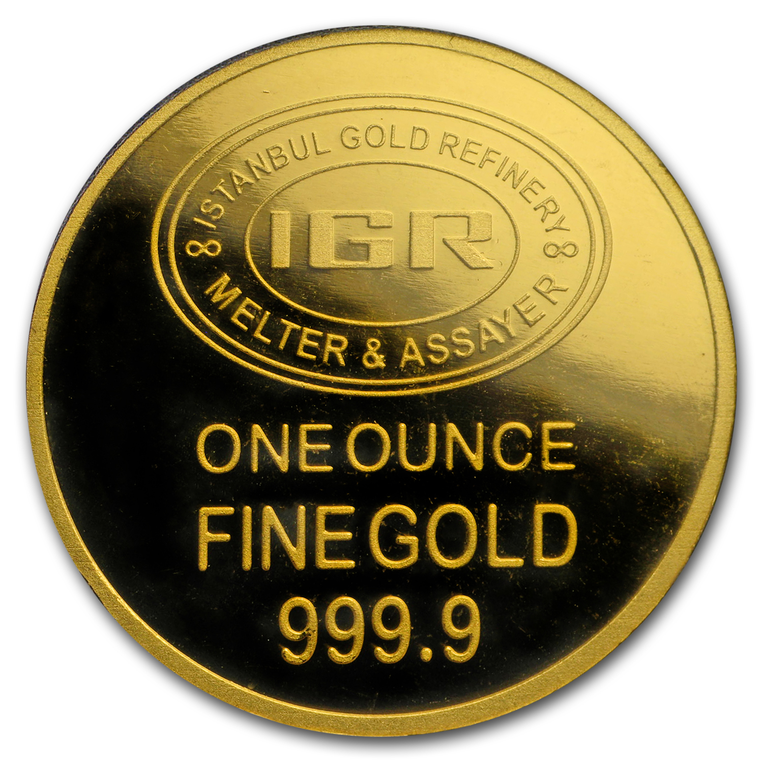1 oz Gold Round - Istanbul Gold Refinery (In Assay)